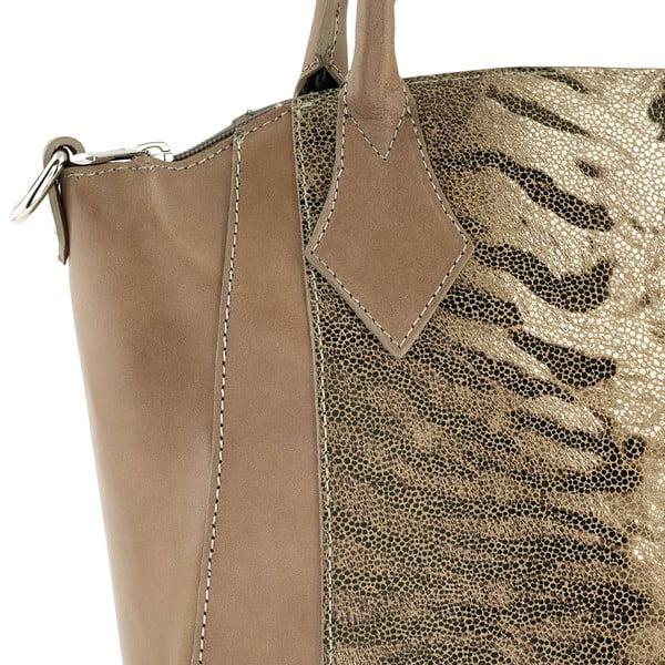 Skórzana torebka Gress Brown
