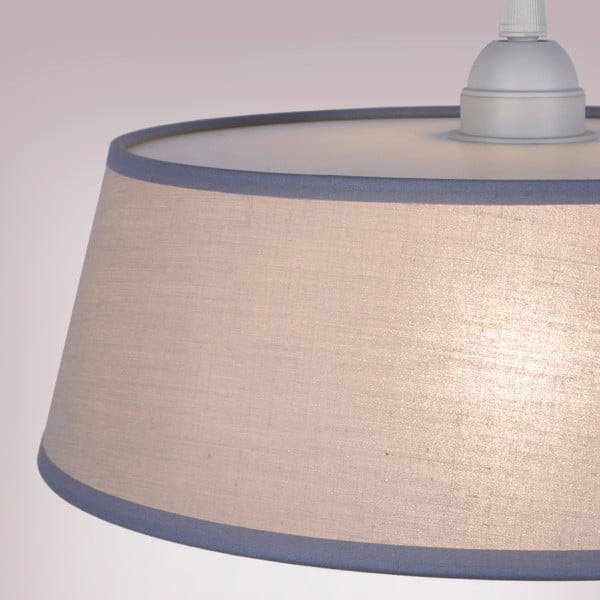 Lampa TAKO, grey/red/white