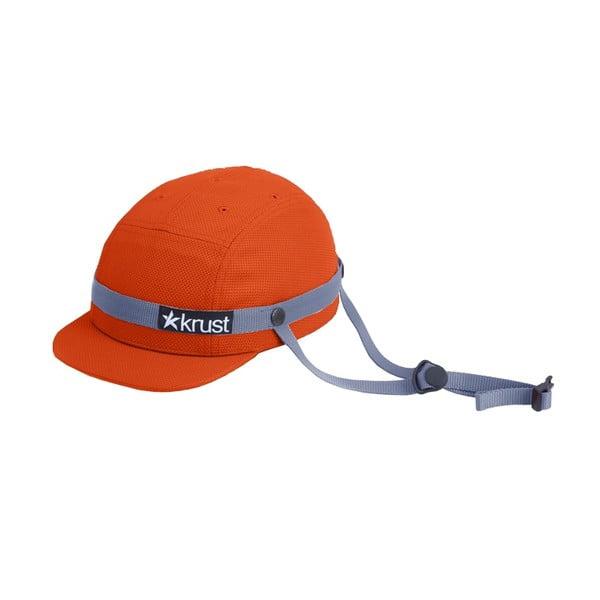 Kask rowerowy Krust Orange/Gray, S