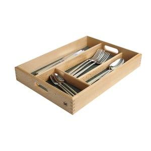 Wkład do szuflady na sztućce z drewna bukowego T&G Woodware, délka 34 cm