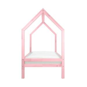 Zestaw 4 różowych wydłużonych nóg do łóżka Benlemi Funny