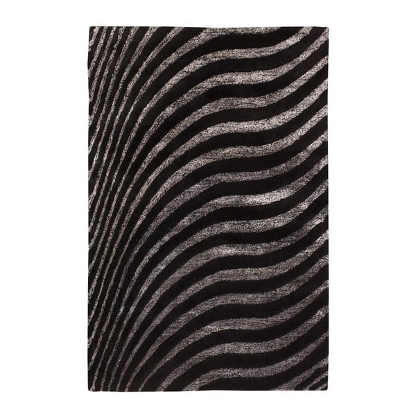 Dywan Nadir 130 Black, 140x200 cm