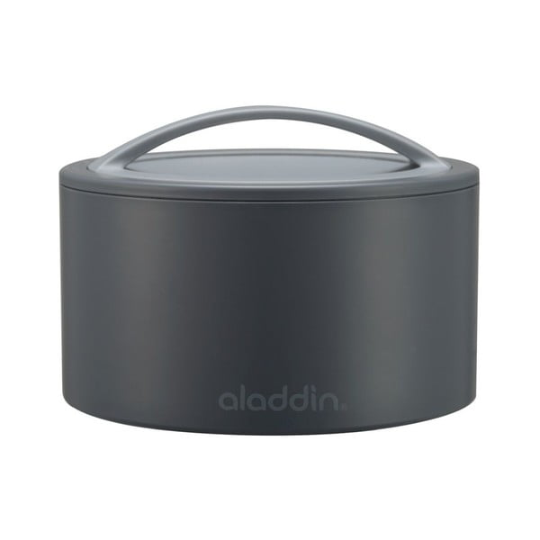Pojemnik termiczny na żywność Bento 350 ml, szary