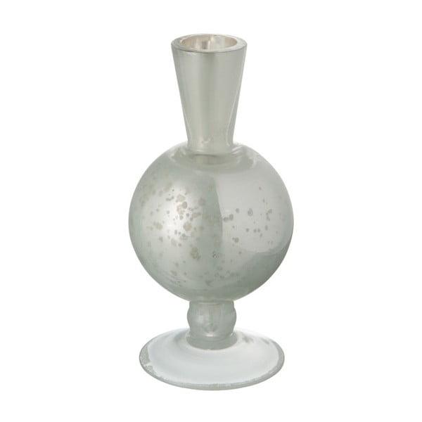 Szklany antyczny wazon J-Line Nacre White