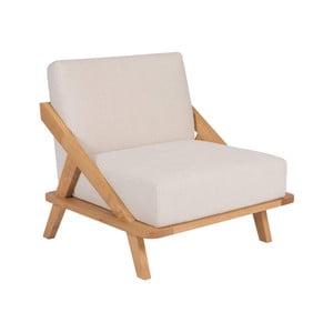 Fotel z drewna dębowego Ellenberger design Nordic Space