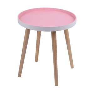 Różowy stolik Ewax Simple Table, 38 cm