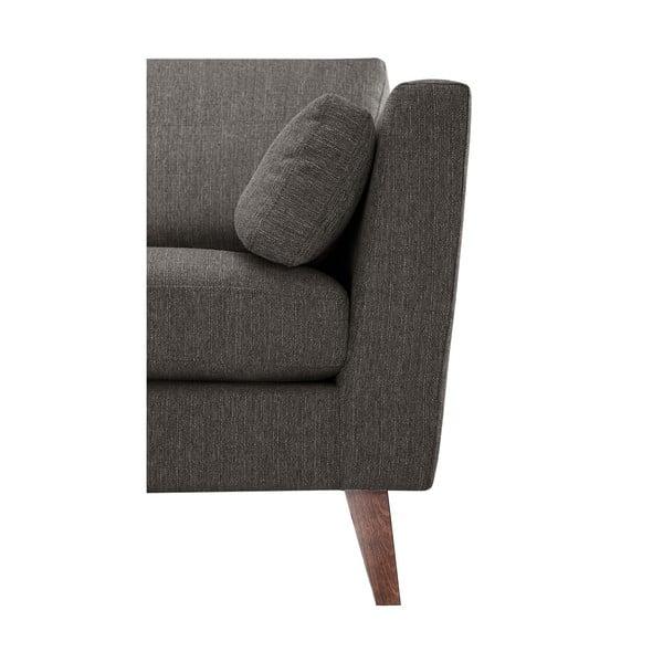 Jasnokasztanowa sofa trzyosobowa Jalouse Maison Elisa