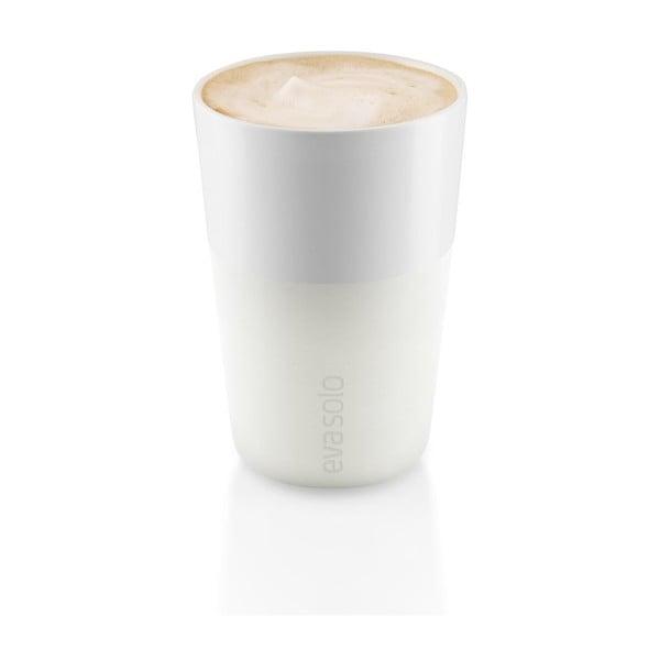 Wysoki kubek Eva Solo Café Latté Ivory, 360 ml, 2szt.