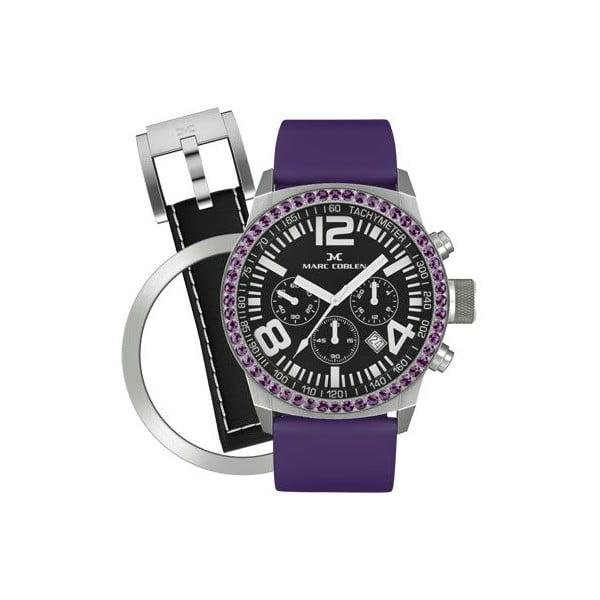Zegarek damski Marc Coblen z dodatkowym paskiem i obręczą P13