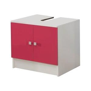 Różowa szafka pod umywalkę 13Casa Click