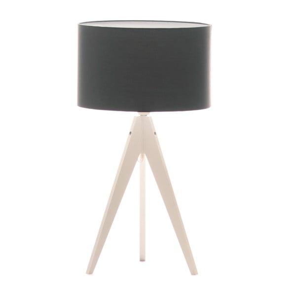 Lampa stołowa Artist Poly Grey/White, 65x33 cm