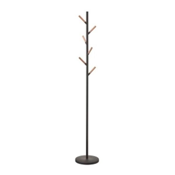 Czarny wieszak Yamazki Plain Pole Hanger