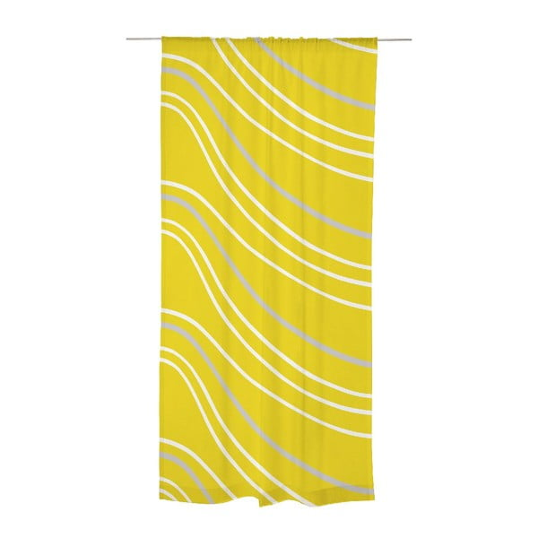 Zasłona Sade Yellow, 140x240 cm