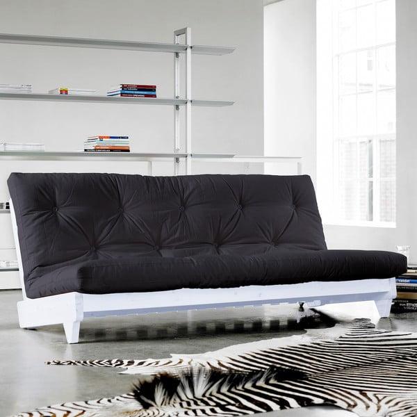 Sofa rozkładana Karup Fresh White/Gray