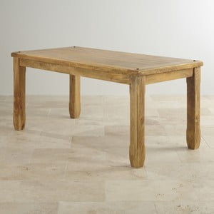 Stół z mahoniu Massive Home Patna, 120x90 cm