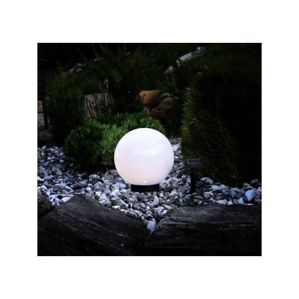 Solarne oświetlenie ogrodowe Best Season Globe, średnica 25 cm