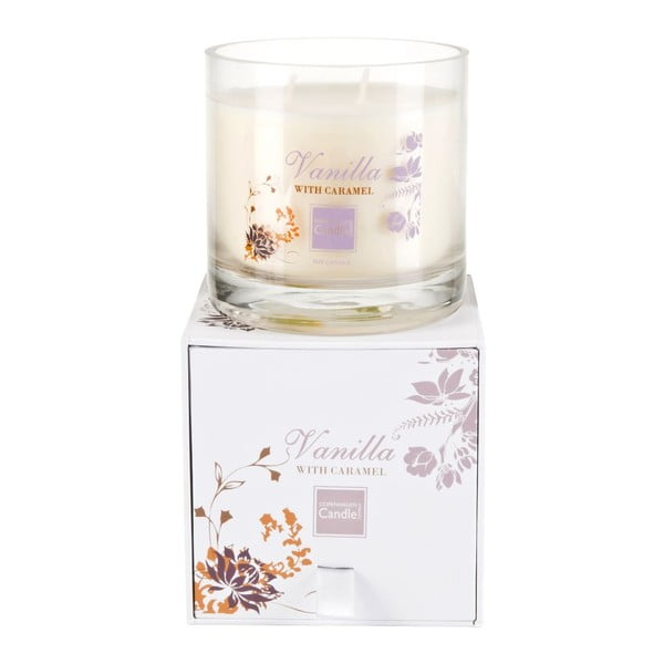 Świeczka zapachowa Vanilla&Caramel Medium, czas palenia 50 godzin