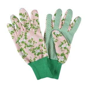 Różowe rękawice ogrodowe Esschert Design Plague