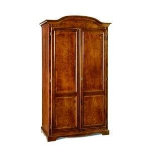 Drewniana szafa 2-drzwiowa Castagnetti Legno