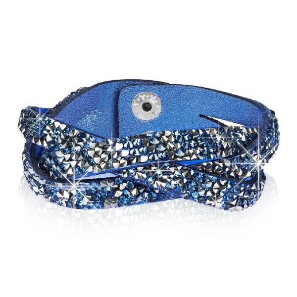 Bransoletka Blue Hero, 17 cm