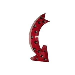 Świecąca dekoracja naścienna Arrow, 75 cm