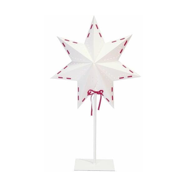 Świecąca gwiazda ze stojakiem Vira, 54 cm