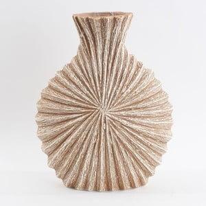 Ceramiczny wazon, beżowy