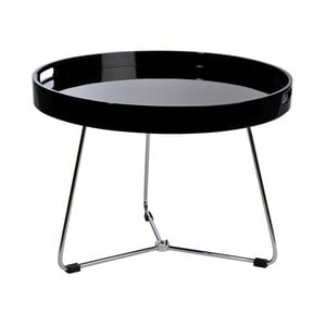 Stolik Metal Black, 60x44 cm