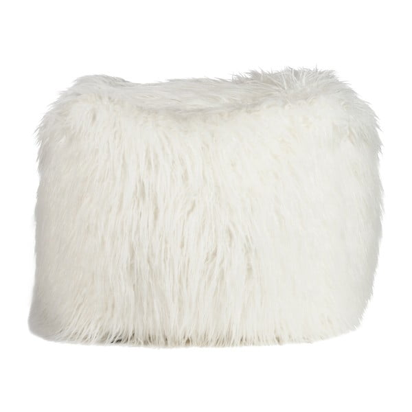 Puf Bean Bag Fur Beige
