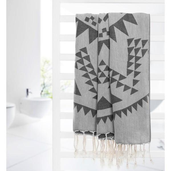 Ręcznik hammam Arcane, szary