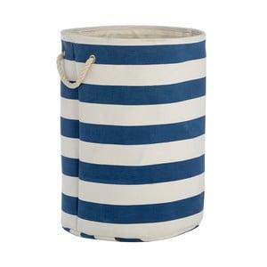Niebiesko-biały kosz na pranie Premier Housewares Sailor