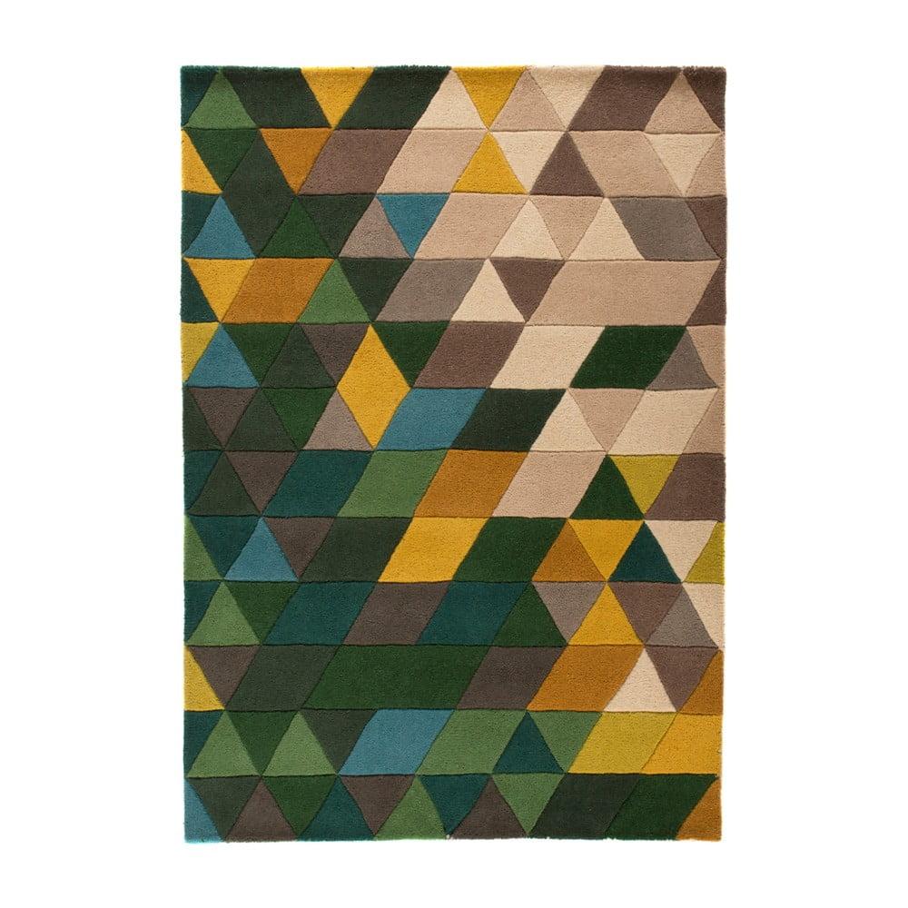 Dywan wełniany Flair Rugs Illusion Prism, 80x150 cm