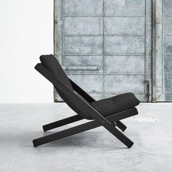 Fotel składany Karup Boogie Black/Dark