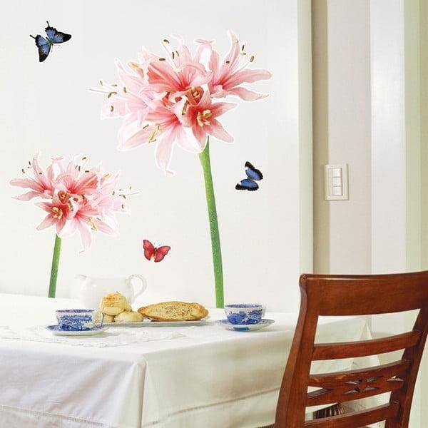 Zestaw naklejek Ambiance Lilly Flower