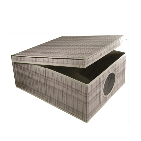 Pudełko Tartan, 48x36x19 cm