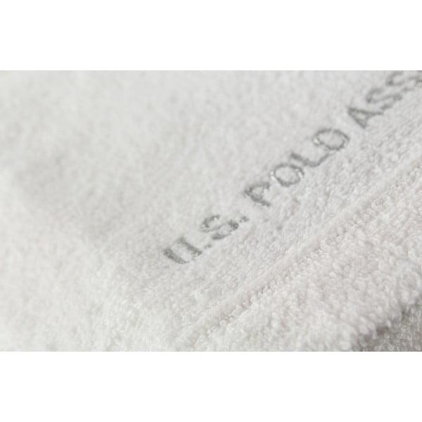 Komplet 2 ręczników U.S. Polo Assn. Wash White, 30x50 cm