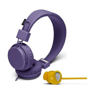 Słuchawki Plattan Lilac + słuchawki Medis Mustard GRATIS