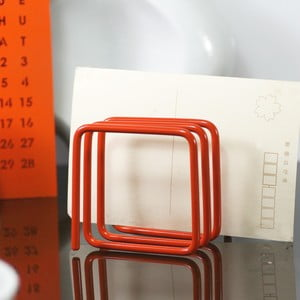 Stojak na listy Letter Rack, pomarańczowy
