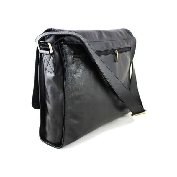 Skórzana torebka unisex Salesia Nero