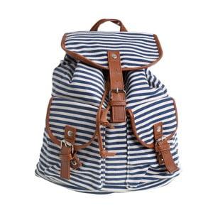 Niebiesko-biały plecak w paski InArt Prints