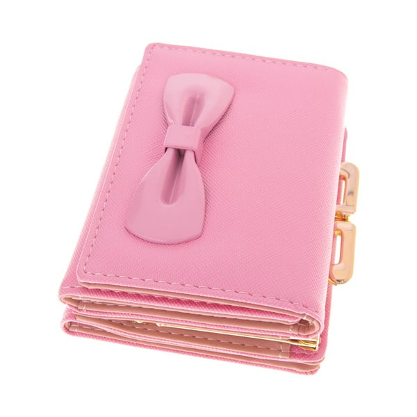 Mały portfel Ladiest, różowy