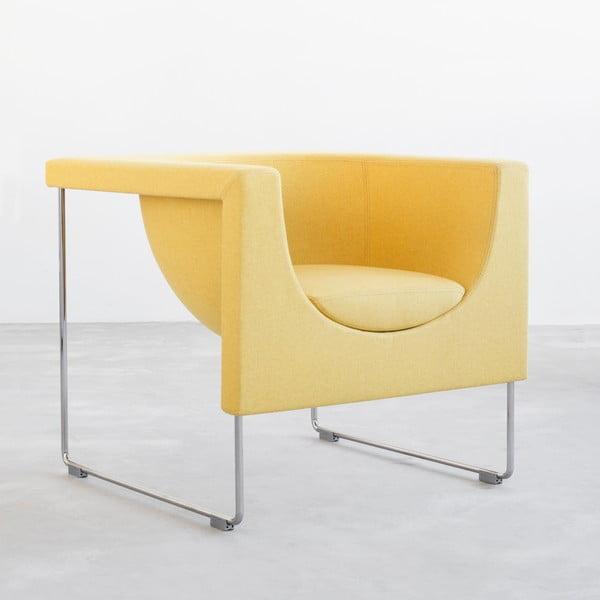 Fotel Nube, żółty