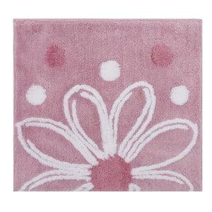 Różowy dywanik łazienkowy Alinda, 50x60 cm