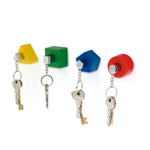 Wieszaczki na klucze, kolorowe