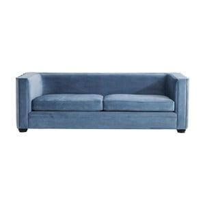 Niebieska sofa dwuosobowa Kare Design Wave