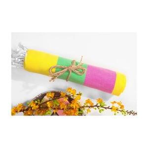 Ręcznik hammam Color Sunny, 95x175 cm
