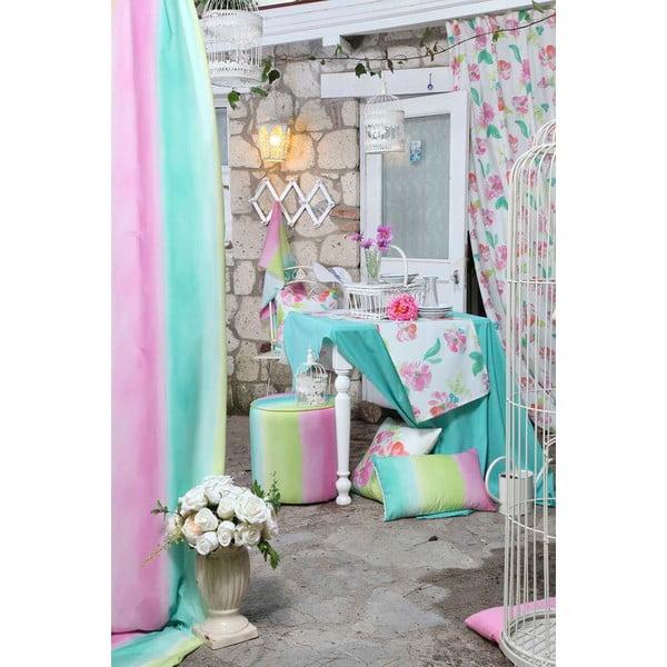 Różowa poduszka na krzesło Carli