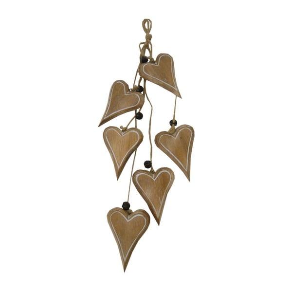 Girlanda Antic Line Decorative Hearts