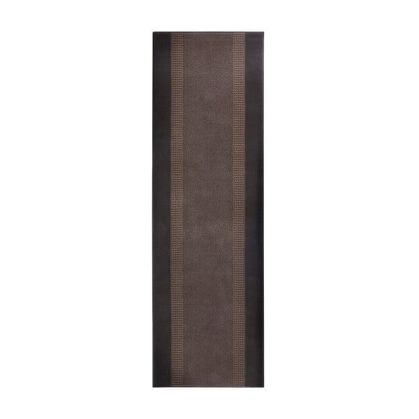 Dywan Basic, 80x300 cm, brązowy