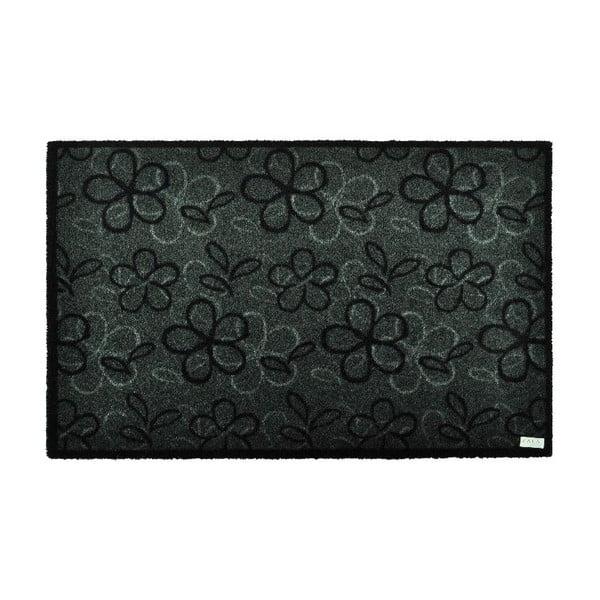 Chodnik podgumowany Zala Living Floral Grey, 120x200 cm